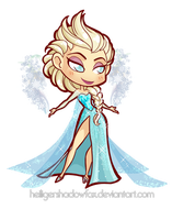 Chibi Elsa by Blatterbury