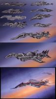 Evolved Aircraft WIP by GDSWorld