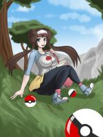 Pokemon Black and White 2 Trainer by RKHart