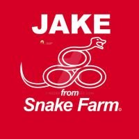 Jake From Snake Farm logo by medek1