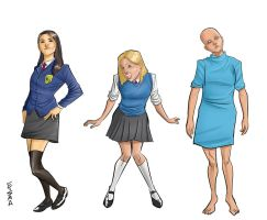 Morning Glories Girls 2015 by Supajoe