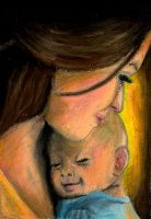 Mother and Child by StreamThroughNebula