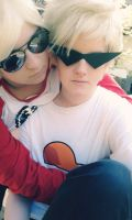 Dirk and Dave Strider [Homestuck Cosplay] by Emoradde