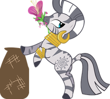 MLP : Zecora Pick herbs flowers by knightnew