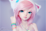 Colourful Girl by cindre