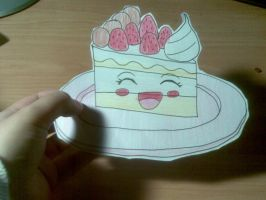 cake kawaii by otaku-dana