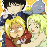 FMA group shot by cat-cat