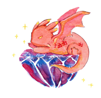 Tiny Smaug by L-Y-N-S