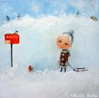 Letters To Santa by Monica-Blatton