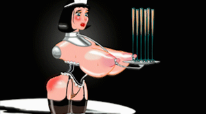 Waitress - animated gif by talesfromdspace