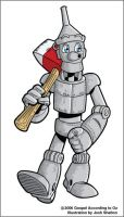 Tin Woodman by justicefrog