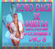 Sheyla Rojas Pack de Png's by lovelyC00