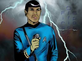 Mister Spock by Morninglori