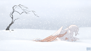 And it's cold... by KaijuRomance