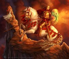 St. George for Talisman by feliciacano