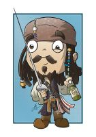Captain Jack Sparrow by cute-death