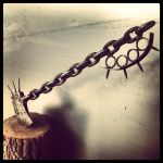 Chain Link Zombie Slayer Axe by thepalehorsman234