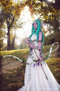 WoW: Tyrande Whisperwind by Jojoska
