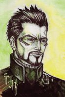 Deus Ex - Adam Jensen by Northern-god