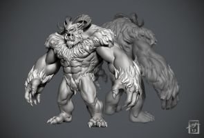 Neverwinter Yeti by ThranTantra