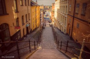 Street of Sodermalm by olideb08