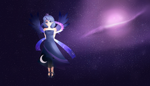 Lonely in space (Luna) by Instanz573