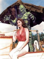 Creature From The Black Lagoon  and Date 2 by vicsixx42
