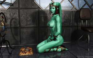 Twi'lek meditation by Dendory
