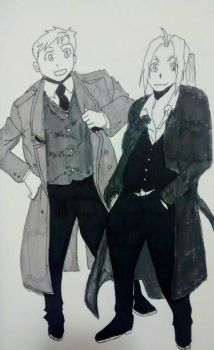 Elric Brothers by willyoubemydeadman