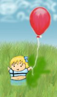 Evie's Red Balloon by eviebaby723