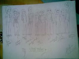 My Classmates by Sandy94sandy