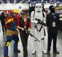 Team Fortress and Storm Trooper by Xephiliomia