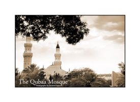 Qubaa Mosque by AnubisGraph