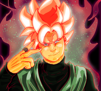 Goku Black by JAM3RSON