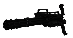 M134 Vulcan Minigun by sadow1213