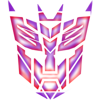 Transformers T-Shirt Logo Design logo's devided by magigrapix