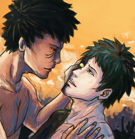 Zetsu and Obito by Fomle-chan