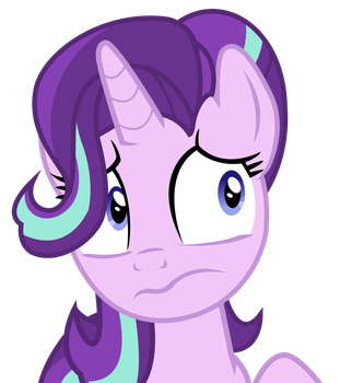 MLP:FIM - Awfully Nervous Starlight Glimmer by REMcMaximus