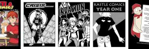 Kastle Comics Cover Gallery by Shira-chan