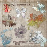 Splatters Mix by libidules