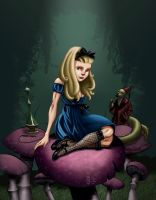 Alice on Shrooms by ChrisShields