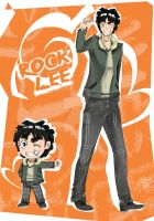 Rock Lee no Seishun Full Style by Konsu4