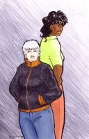 Tessaly and Arundhati by ankewehner