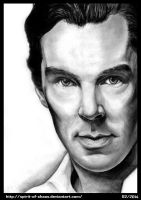 Benedict Cumberbatch by SpiritusChaos