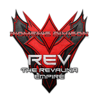 The Revauna Empire - Red and black text by Unixia
