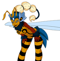 Concept Bee Queen 2 by richie-on-a-mission