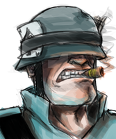 Soldier's Stogie by O-S-M