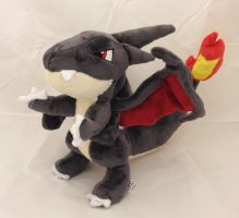Pokemon - Shiny Mega Charizard Y custom plush by Kitamon