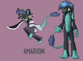 Amarion Redesign by Bitcoon