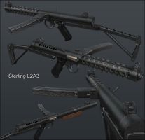 3D Sterling L2A3 by pete-c-89